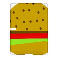 Hamburger Food Fast Food Burger Samsung Galaxy Tab S (10 5 ) Hardshell Case  by Nexatart