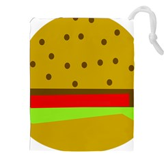 Hamburger Food Fast Food Burger Drawstring Pouches (xxl)