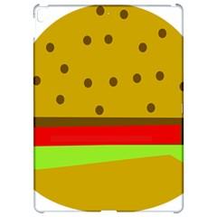 Hamburger Food Fast Food Burger Apple Ipad Pro 12 9   Hardshell Case by Nexatart