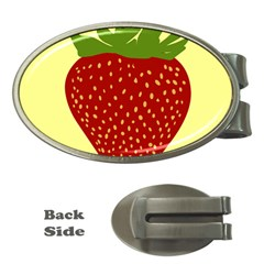 Nature Deserts Objects Isolated Money Clips (oval)
