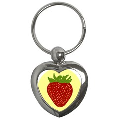 Nature Deserts Objects Isolated Key Chains (heart)