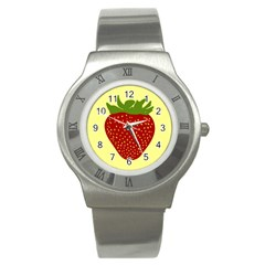 Nature Deserts Objects Isolated Stainless Steel Watch by Nexatart