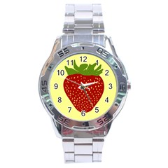 Nature Deserts Objects Isolated Stainless Steel Analogue Watch