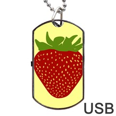 Nature Deserts Objects Isolated Dog Tag Usb Flash (one Side)