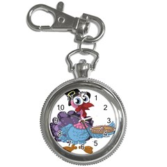 Turkey Animal Pie Tongue Feathers Key Chain Watches