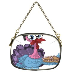 Turkey Animal Pie Tongue Feathers Chain Purses (one Side)  by Nexatart