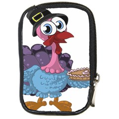 Turkey Animal Pie Tongue Feathers Compact Camera Cases