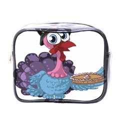 Turkey Animal Pie Tongue Feathers Mini Toiletries Bags