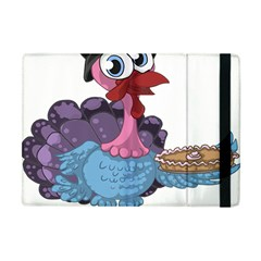 Turkey Animal Pie Tongue Feathers Apple Ipad Mini Flip Case