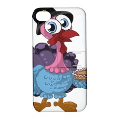 Turkey Animal Pie Tongue Feathers Apple Iphone 4/4s Hardshell Case With Stand