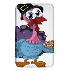 Turkey Animal Pie Tongue Feathers Samsung Galaxy Tab 3 (7 ) P3200 Hardshell Case