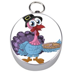 Turkey Animal Pie Tongue Feathers Silver Compasses by Nexatart