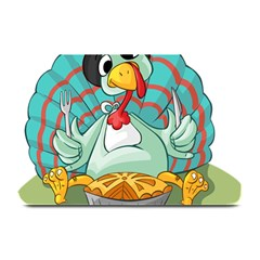 Pie Turkey Eating Fork Knife Hat Plate Mats by Nexatart