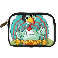 Pie Turkey Eating Fork Knife Hat Digital Camera Cases