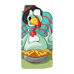 Pie Turkey Eating Fork Knife Hat Samsung Galaxy Alpha Hardshell Back Case by Nexatart