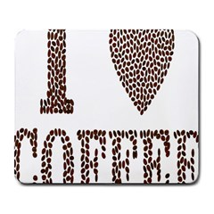 Love Heart Romance Passion Large Mousepads by Nexatart