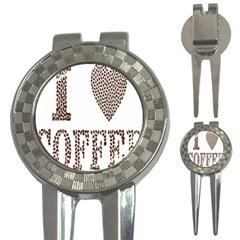 Love Heart Romance Passion 3 In 1 Golf Divots