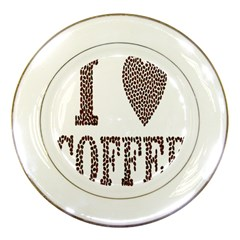 Love Heart Romance Passion Porcelain Plates by Nexatart