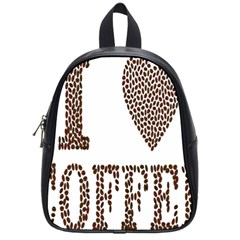 Love Heart Romance Passion School Bags (small)  by Nexatart