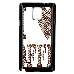 Love Heart Romance Passion Samsung Galaxy Note 4 Case (black)
