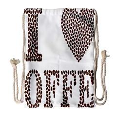 Love Heart Romance Passion Drawstring Bag (large)