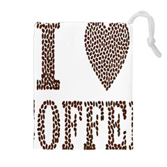 Love Heart Romance Passion Drawstring Pouches (extra Large) by Nexatart