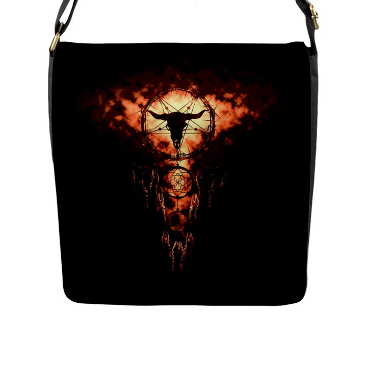 DREAMCATCHER Flap Messenger Bag (L)