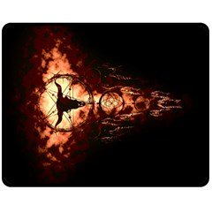 Dreamcatcher Double Sided Fleece Blanket (medium)  by RespawnLARPer
