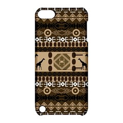 Giraffe African Vector Pattern Apple Ipod Touch 5 Hardshell Case With Stand