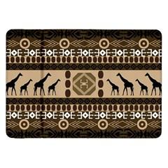Giraffe African Vector Pattern Samsung Galaxy Tab 8 9  P7300 Flip Case