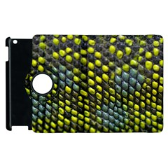 Lizard Animal Skin Apple Ipad 2 Flip 360 Case