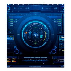 Technology Dashboard Shower Curtain 66  X 72  (large)