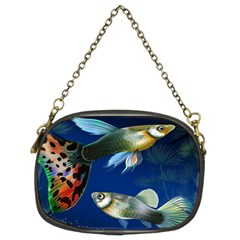 Marine Fishes Chain Purses (two Sides)
