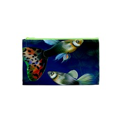 Marine Fishes Cosmetic Bag (xs) by BangZart