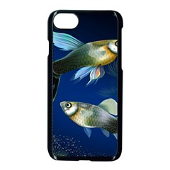 Marine Fishes Apple Iphone 7 Seamless Case (black) by BangZart