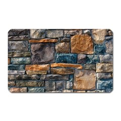 Brick Wall Pattern Magnet (rectangular)