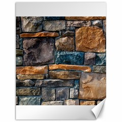 Brick Wall Pattern Canvas 12  X 16