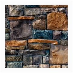 Brick Wall Pattern Medium Glasses Cloth (2 Side)