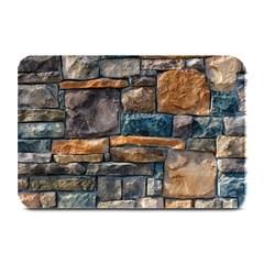 Brick Wall Pattern Plate Mats