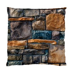 Brick Wall Pattern Standard Cushion Case (two Sides)
