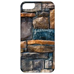 Brick Wall Pattern Apple Iphone 5 Classic Hardshell Case