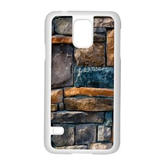 Brick Wall Pattern Samsung Galaxy S5 Case (white)