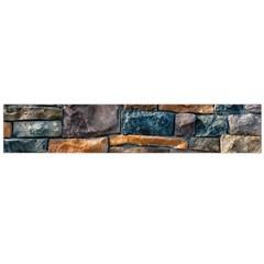 Brick Wall Pattern Flano Scarf (large)