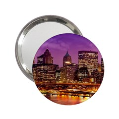 City Night 2 25  Handbag Mirrors