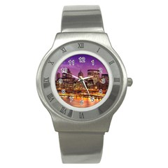 City Night Stainless Steel Watch