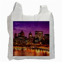 City Night Recycle Bag (one Side)