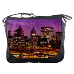 City Night Messenger Bags