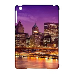 City Night Apple Ipad Mini Hardshell Case (compatible With Smart Cover) by BangZart