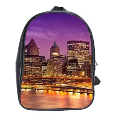 City Night School Bags (xl)  by BangZart
