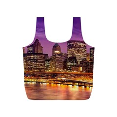 City Night Full Print Recycle Bags (s)